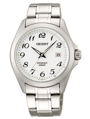 Orient quartz swimmer mens watch WW0031GZ fs3gm