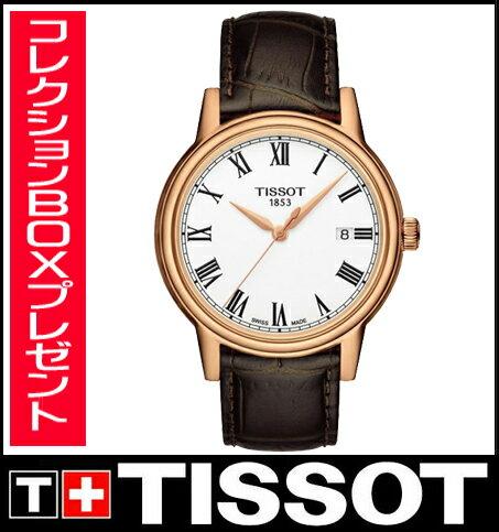 【送料無料】国内正規品 TISSOT[ティソ]T-Classic Carson メンズ腕時計 T085.410.36.013.00 【RCP】【P08Apr16】 【期間限定 ポイント10倍】