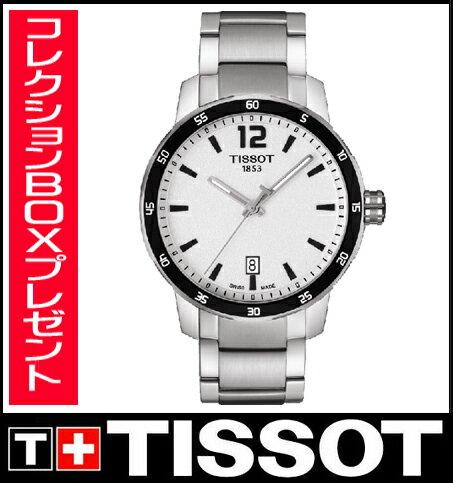 【送料無料】国内正規品 TISSOT[ティソ] T-Sport クイックスター メンズ腕時計 T095.410.11.037.00【RCP】【P08Apr16】 【期間限定 ポイント10倍】