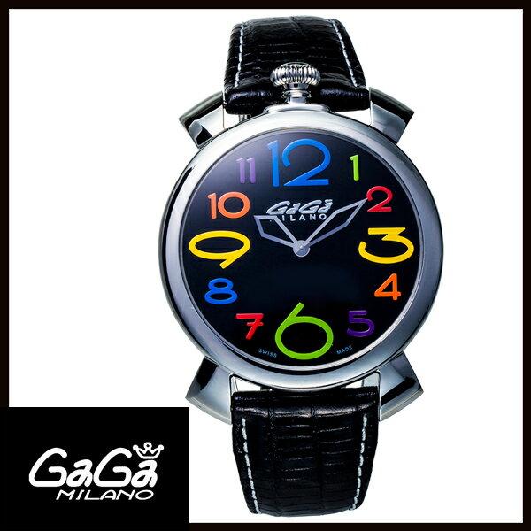 【送料無料】 国内正規品 GAGA MILANO ガガミラノ MANUALE THIN 46MM ステンレス メンズ腕時計 5090.12【新品】【RCP】【02P12Oct14】 ポイント5倍★1年保証