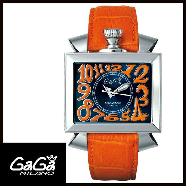 【送料無料】 国内正規品 GAGA MILANO ガガミラノNAPOLEONE 48MM ステンレス メンズ腕時計 6000.4【新品】【RCP】【02P12Oct14】 ポイント5倍!!★1年保証