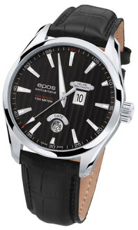 Men's automatic self-winding EPOS passion Heure Sautante 3405BK fs3gm