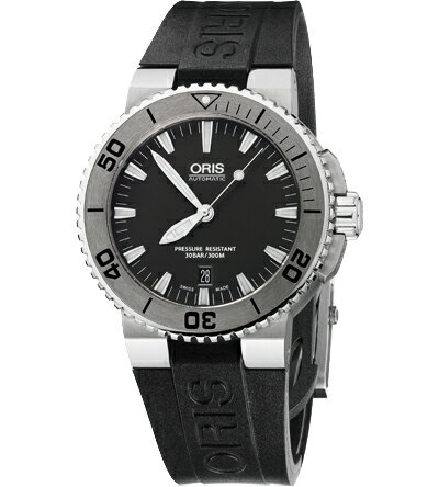 【送料無料】ORIS [ オリス ] ダイビング アクイス デイトメンズ腕時計 Ref.733 7653 41 53R【新品】【RCP】【02P01May16】