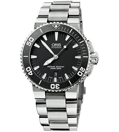 ORIS dive aquis date mens watch Ref.733 7653 41 54M fs3gm