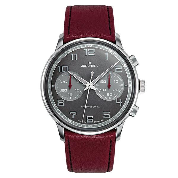 【送料無料】 国内正規品 ユンハンス Meister Driver Chronoscope メンズ腕時計 027 3685 00 【新品】【RCP】【02P03Dec16】 【期間限定 ポイント5倍】