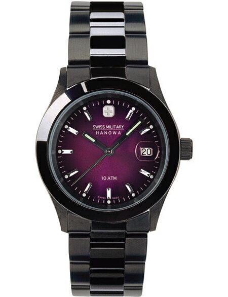 SWISS MILITARY [the Swiss military] ELEGANT BLACK [elegant black] men clock ML189 fs3gm