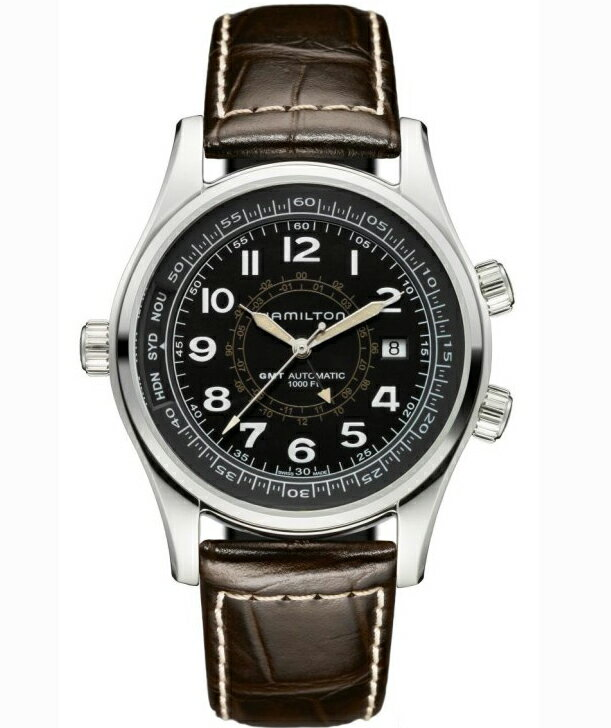 HAMILTON Hamilton Khaki UTC mens watch H77505535 fs3gm