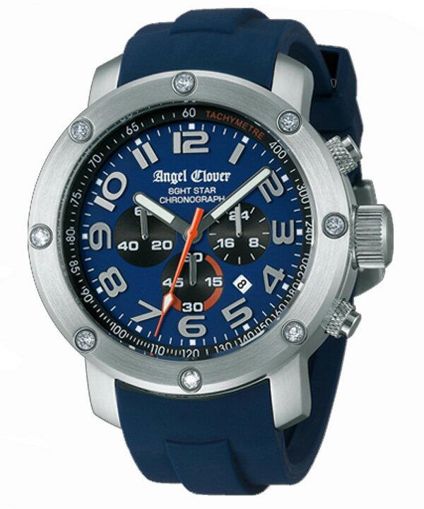 【送料無料 SEIKO セイコー】 Angel Clover [ エンジェルクローバー ] バッグ スイス製 メンズ腕時計 エイトスター NES46SNV-NV【新品】【RCP】【P08Apr16】:ケルエ【期間限定 ポイント10倍】