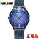 WELDER ウェルダー MOODY WELDER SLIM 3HANDS 42mm クォーツ メンズ腕時計 送料無料 WRS407 ラッピング無料