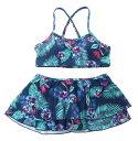 アウトレット価格 ROXY ロキシー キッズ / ビキニ セット(100-150) ビキニ 水着 サーフィン 海水浴 夏 水泳 ビーチウェア