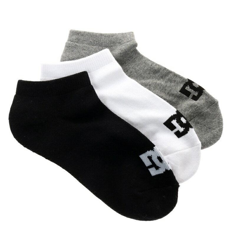 ディーシーシューズ DC SHOES  SPP 【DC ディーシー】ANKLE 3PK Socks 【EDYAA03151 KVJ8】