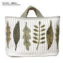 リンドべリの葉っぱのバッグ(作り方なし) 北欧キルト掲載 | キット パッチワーク キ