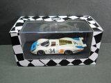 1/43scale エブロ EBBRO Porsche 908 Le Mans 1968 #34 ポルシェ ルマン