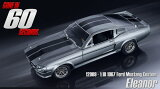 "1/18scale グリーンライト GREENLIGHT ""ELEANOR"" 1967 Custom Movie Star Mustang エレノア マスタング Gone In 6"