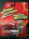 DODGE - 1/64 ジョニーライトニング JOHNNY LIGHTNING 60S SIZZLE 1969 DODGE DART GTS ダッジ ダート ミニカー アメ車