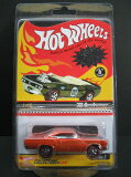 1/64scale 热wheel HOT WHEELS Red Line Club #039;70 Roadrunner 路跑垒员红色 线 俱乐部[1/64scale ホットウィール HOT WHEELS Red Line Club '70 Roadrunner ロードランナー レッド ライン クラブ]