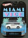 1/64scale ホットウィール Hot WheelsRetro Entertaiment Miami ViceFerrari F512 M マイアミバイスフェラーリ