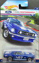 1/64scale ホットウィール Hot Wheels '67 Ford Mustang Coupe マスタング クーペ Mustang Racing