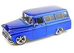 1/24 JADA TOYS 1957 Chevy Suberban シェビー サバーバン アメ車 ミニ…の画像