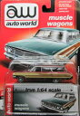 1/64scale Auto World 1964 Ford Country Squire フォード カントリー スクワイア