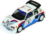 1/43scale IXO イクソPeugeot 205 Turbo 16V Evo 2 #5 Winner Rally Acropolis 1986プジョー
