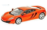 1/43scale ミニチャンプス MINICHAMPS McLaren MP4-12C 2011 Orange Metallic マクラーレン