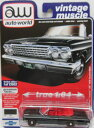 1/64 Auto World 1962 Chevy Impala SS 409 Convertible シボレー インパラ ミニカー アメ車