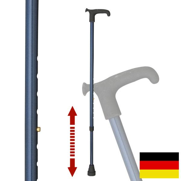 杖 ステッキ ドイツ製リハビリ用ステッキ(メタリックブルー)OS12 敬老の日 ギフト プレゼント