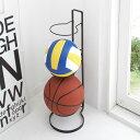 ボール入れ ボール収納 3個収納 ボールスタンド フレーム ブラック 07290 アイデア 便利【RCP】 包装不可 ギフト プレゼント