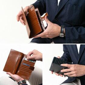 カードケースメンズ財布革本革30枚カード収納財布イタリアンレザーMilagroミラグロCA-S-2163