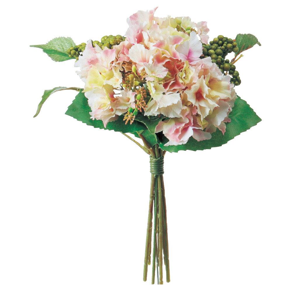 《 造花 》Asca/アスカ ハイドランジアブーケ紫陽花 アジサイ インテリア