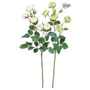 《 造花 》Asca/アスカ スウィートローズ×5 つぼみ×3インテリア インテリアフラワー