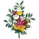 《 造花 仏花 》◆とりよせ品◆Asca 仏花(菊) ミックス造花仏花 お供え花