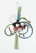 《こどもの日 端午》Asca/アスカ ちりめん金太郎吊り飾り 端午の節句 五月