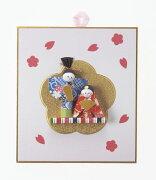 《おひなさま》Asca/アスカ 壁掛雛飾り(1セット10個入) ひな祭り 雛祭り