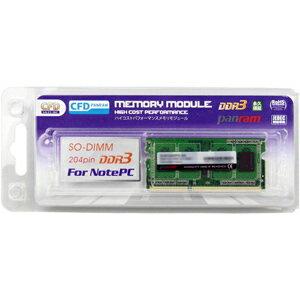 CFD DDR3−1600 204pin SO−DIMM (4GB 1枚組) D3N1600PS‐4G