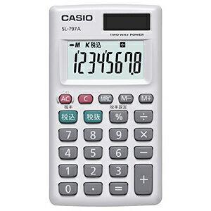 CASIO パーソナル電卓(カードタイプ) SL‐797A‐N