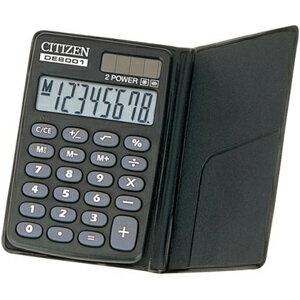 手帳型電卓 (8桁) DE8001Q