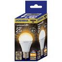 ドウシシャ LED電球(小型電球形・全光束273lm/電球色・口金E17)「小形電球タイプ」 LDAS25L‐GM