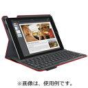 ロジクール iPad Air 2用 キーボード一体型保護ケース iK1051RD (レッド)(送料無料)