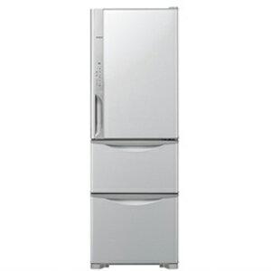 日立 3ドア冷蔵庫(315L・右開き) R‐K320FV(T) <ライトブラウン>【標準設置無料】