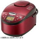 日立 圧力スチームIH炊飯ジャー「蒸気セーブ極上炊き圧力&スチーム」(1升) RZ‐RV18BKM‐R(レッド)(送料無料)