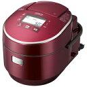 日立 圧力スチームIH炊飯ジャー(5.5合) RZ‐WXV3000BKM‐R(メタリックレッド)【送料無料】