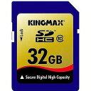 KingMax 32GB・Class10対応SDHCカード KM‐SDHC10X32G