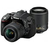 ニコン デジタル一眼レフカメラ D5300 ダブルズームキット2 D5300WZBK2〈ブラック〉【送料無料】