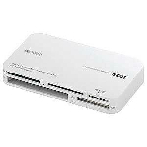 バッファロー USB3.0 マルチカードリーダー〈ホワイト〉 BSCR21U3WH〈ホワイト〉