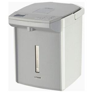 タイガー TIGER 電気ポット 「とく子さん」 [2.2L/電動式/まほうびん保温/蒸気レス] PIJ‐A220‐W (ホワイト)