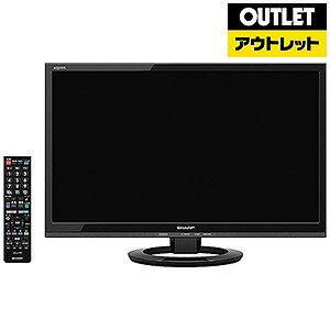 シャープ 22型液晶テレビ LC−22K30−B <ブラック>【送料無料】