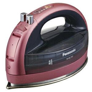 パナソニック コードレススチームアイロン NI‐WL703‐P (ピンク)【送料無料】