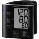 シチズン 手首式血圧計「スタイリッシュブラック」 CH‐657F‐BK